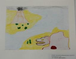 """""""На поиски динозавров"""", Рассыхаев Егор, 6лет"""